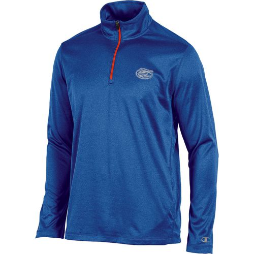 Champion Men's University of Florida Victory 1/4 Zip Long Sleeve Pullover