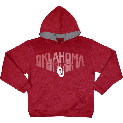 Champion Boys' University of Oklahoma Take Off 3 Pullover Hoodie