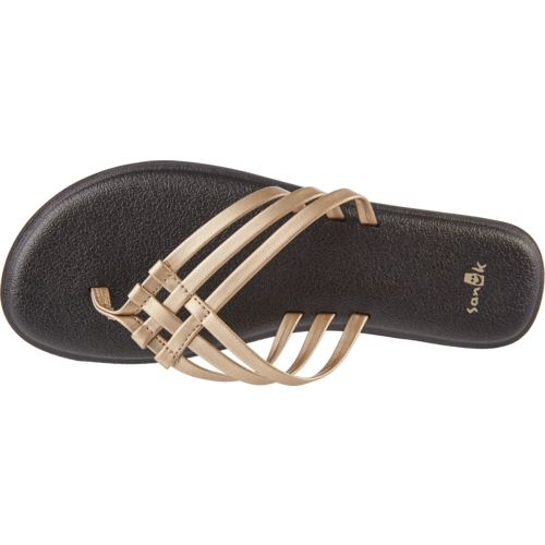 Sanuk Women's Yoga Salty Metallic Flip-Flops - view number 4