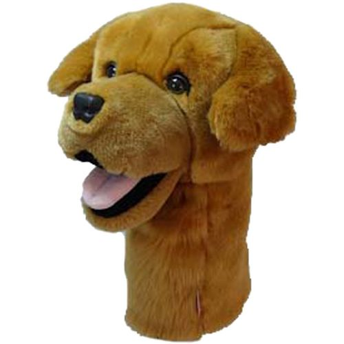 Daphne's Headcovers Golden Retriever Driver Headcover