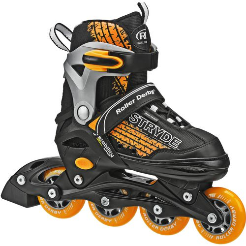 Roller Derby Boys' Stryde Size Adjustable In-Line Skates