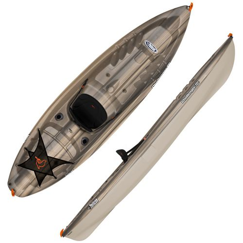 Display product reviews for Pelican 10 ft CHALLENGER 100 Angler Fishing Kayak