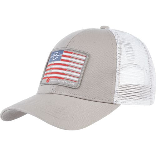 Magellan Outdoors Men's American Fishing Pole Trucker Cap