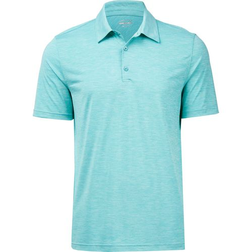 Display product reviews for BCG Men's Melange Golf Polo Shirt