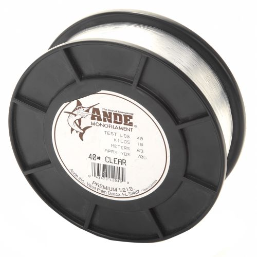 ANDE Premium 1/2 lbs Monofilament Fishing Line
