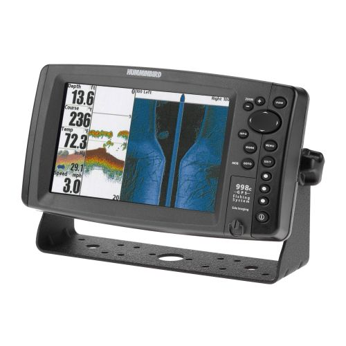Humminbird 998c SI Fishfinder and External GPS Combo