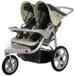 InSTEP Safari Swivel Wheel Double Jogging Stroller