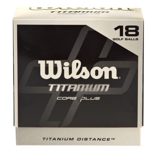 Image for Wilson Titanium Golf Balls 18-Pack from Academy