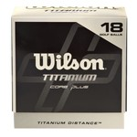 Wilson Titanium Golf Balls 18-Pack - view number 1