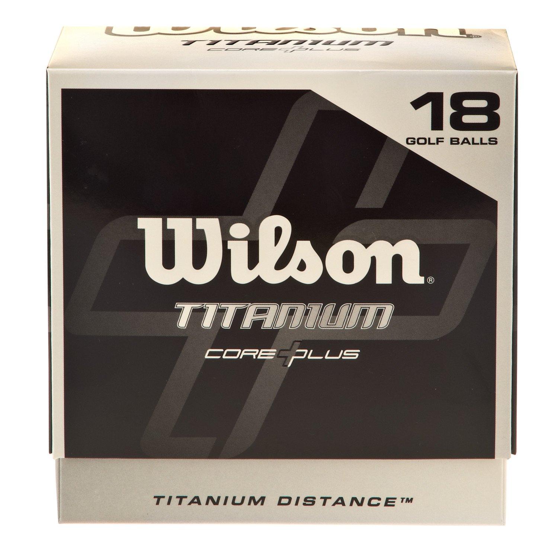Wilson Titanium Golf Balls 18-Pack
