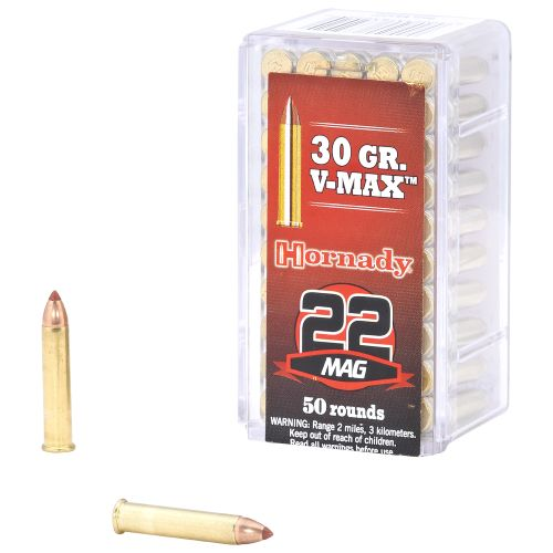 Display product reviews for Hornady V-MAX™ .22 WMR 30-Grain Rimfire Rifle Ammunition