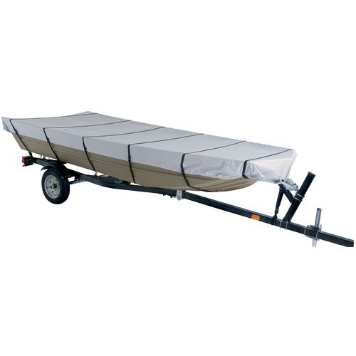 Marine Raider Model B 300-Denier Boat Cover Fits 14' Jon Boats