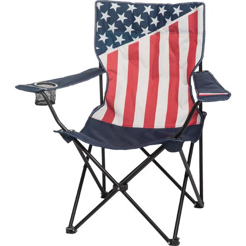Academy Sports + Outdoors  USA Flag Folding Chair