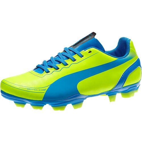 PUMA Kids  evoSPEED 5.2 Junior Soccer Cleats