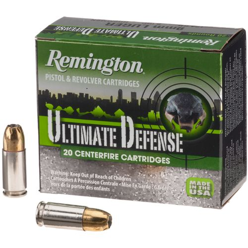 Remington Ultimate Defense 9mm Luger 124-Grain Centerfire Handgun Ammunition