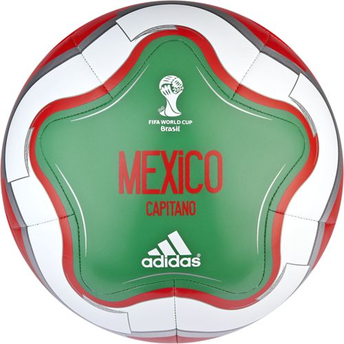 Image for adidas OLP 2014 Capitano Mexico Soccer Ball from Academy