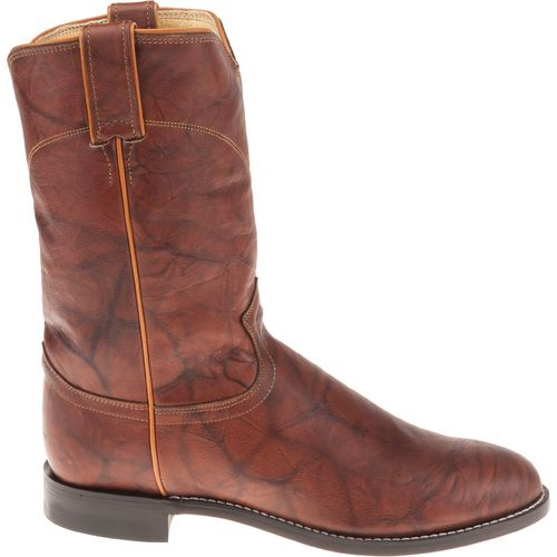 Display product reviews for Justin Men's Ropers Marbled Deerlite Western Boots