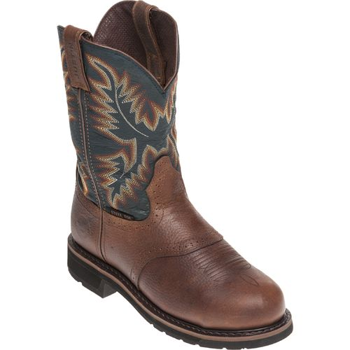 Justin Men's Kettle Rowdy Steel Toe Western Work Boots - view number 2