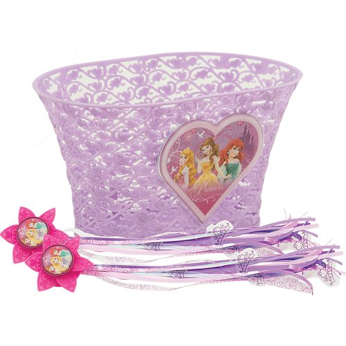 Disney Princess Girls' Bike Accessory Pack