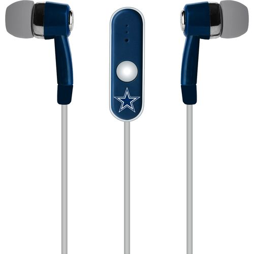 Mizco Dallas Cowboys Stereo Hands-Free Earbuds