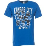 COED Sportswear Adults' Kansas City Royals Roster T-shirt