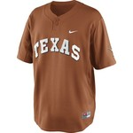 Nike Men's University of Texas Baseball Replica Henley Shirt
