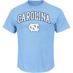 Majestic Men's University of North Carolina Section 101 Arch Mascot T-shirt