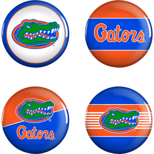 WinCraft University of Florida Buttons 4-Pack