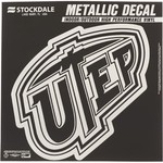 Stockdale University of Texas at El Paso Metallic Decal