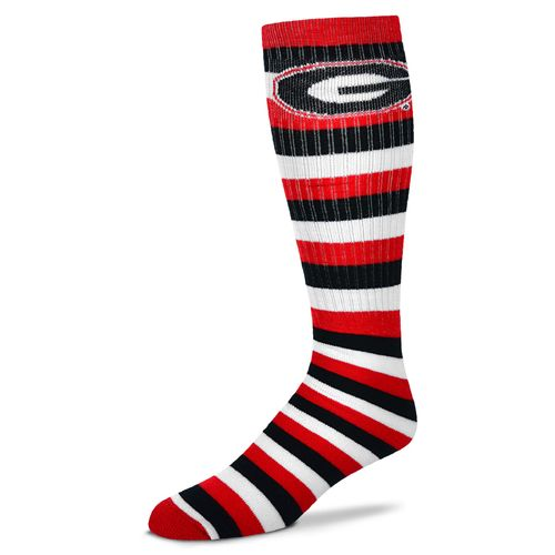 For Bare Feet Adults' University of Georgia Pro Stripe Tube Socks