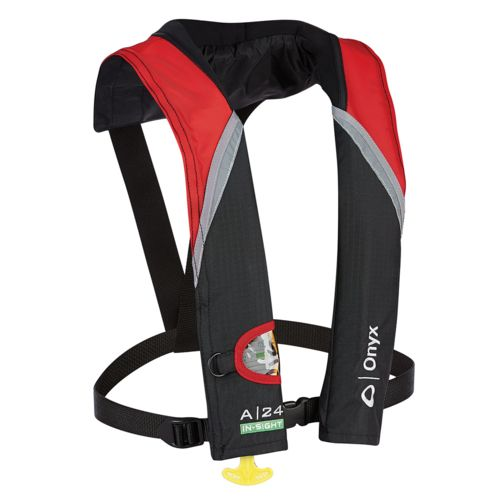 Display product reviews for Onyx Outdoor A-24 Insight Automatic Inflatable Life Jacket
