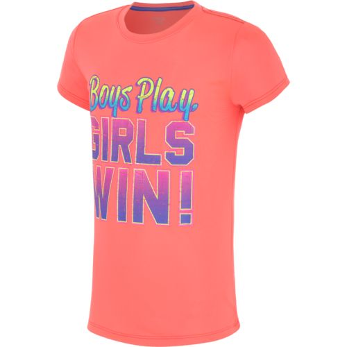 Image for BCG™ Girls' Screen Printed Performance Crew Neck T-shirt from Academy