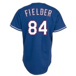 Majestic Men's Texas Rangers Prince Fielder #84 Cool Base® Alternate Jersey