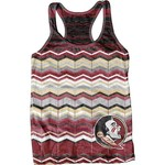 Blue 84 Juniors' Florida State University Sublimated Racerback Tank Top