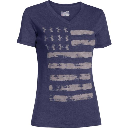 Under Armour Women 39 S Painted Flag T Shirt Academy