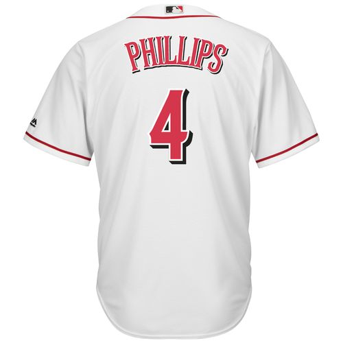 Majestic Men's Cincinnati Reds Brandon Phillips #4 Cool Base® Home Jersey