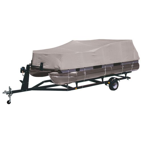 Marine Raider Model B Boat Cover Fits Most 21' - 24' Pontoon Boats