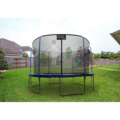 Upper Bounce® SKYTRIC 15' Round Trampoline with Enclosure - view number 7