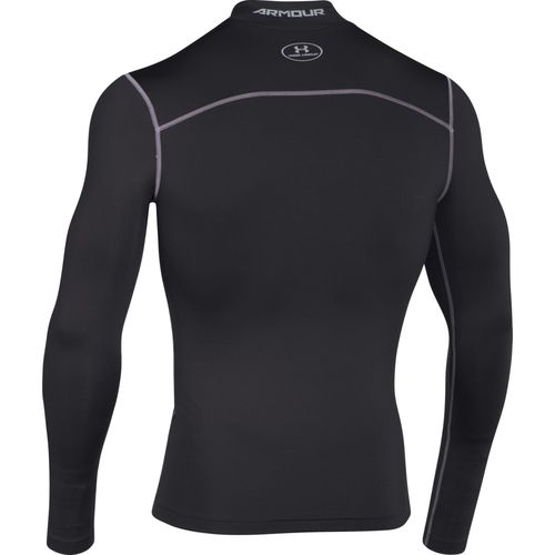 Under Armour Men's ColdGear Armour Compression Mock Baselayer Shirt - view number 2