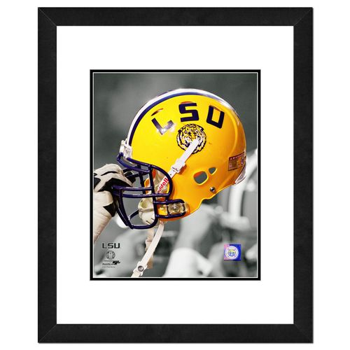 "Photo File Louisiana State University 8"" x 10"" Helmet Photo"