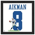 "Photo File Dallas Cowboys Troy Aikman #8 UniFrame 20"" x 20"" Framed Photo"
