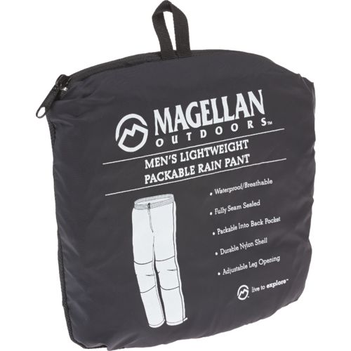 Magellan Outdoors Men's Packable Rain Pant - view number 3