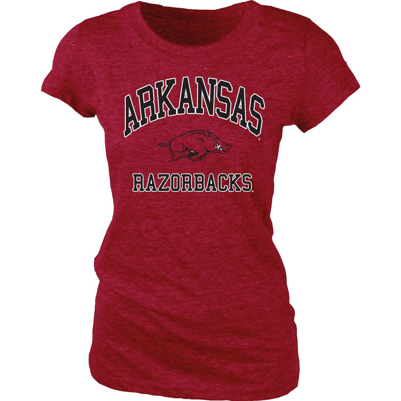 Blue 84 Juniors' University of Arkansas Triblend T-shirt