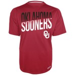 Section 101 Men's University of Oklahoma Heather Raglan Synthetic T-shirt
