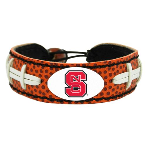 GameWear North Carolina State University Classic Football Bracelet