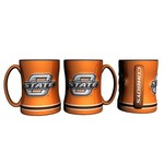 Boelter Brands Oklahoma State University 14 oz. Relief-Style Coffee Mug