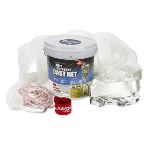 Fitec Super Spreader GS1000 8' Mesh Cast Net with Tape - view number 1