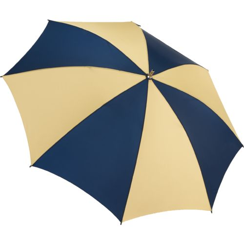 Storm Duds Adults' NCAA 2-Tone Golf Umbrella with ID Handle Insert