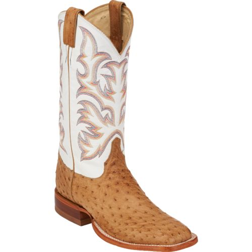 Justin Men's Full Quill Ostrich AQHA Remuda Western Boots - view number 2
