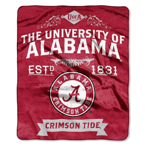 The Northwest Company University of Alabama Label Raschel Throw